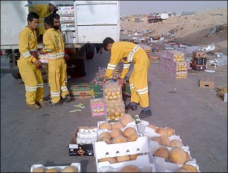 أمانة الرياض تخلي 55 موقعاً ومبسطاً عشوائياً للجائلين الأجانب