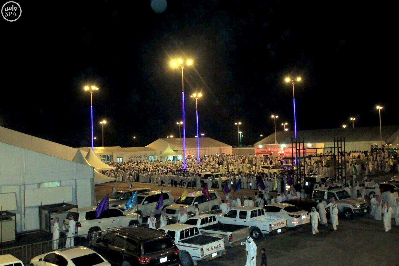 مهرجان عيد وصيف حفر الباطن يواصل حضوره المرتفع
